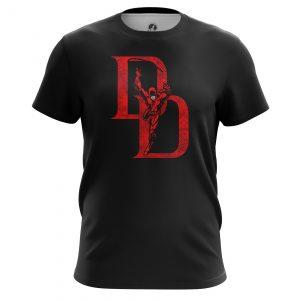 Collectibles Men'S T-Shirt Daredevil Logo Black