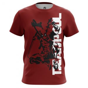 Merchandise - Men'S T-Shirt Deadpool Red