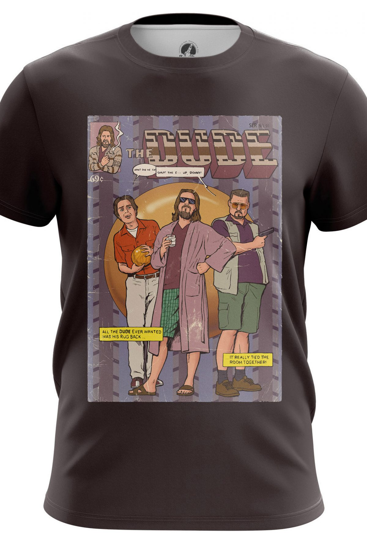 Men S T Shirt Dude Big Lebowski Idolstore