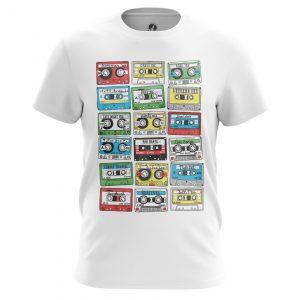 Collectibles Men'S T-Shirt Eighties Audio Cassette 80S