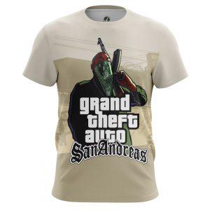 Merchandise Men'S T-Shirt Grove Gang Gta San Andreas
