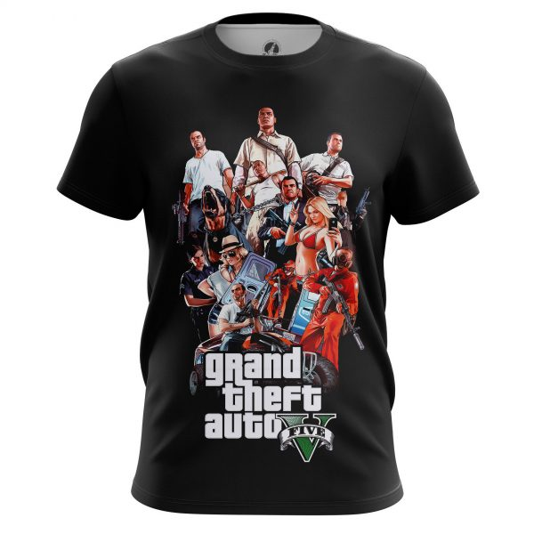 Men\'s t-shirt GTA 5 Games
