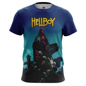 Merchandise Hellboy Men'S T-Shirt Comics