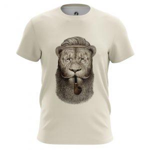 Merchandise Men'S T-Shirt Hippie Lion Animals Lions Hippie Lion