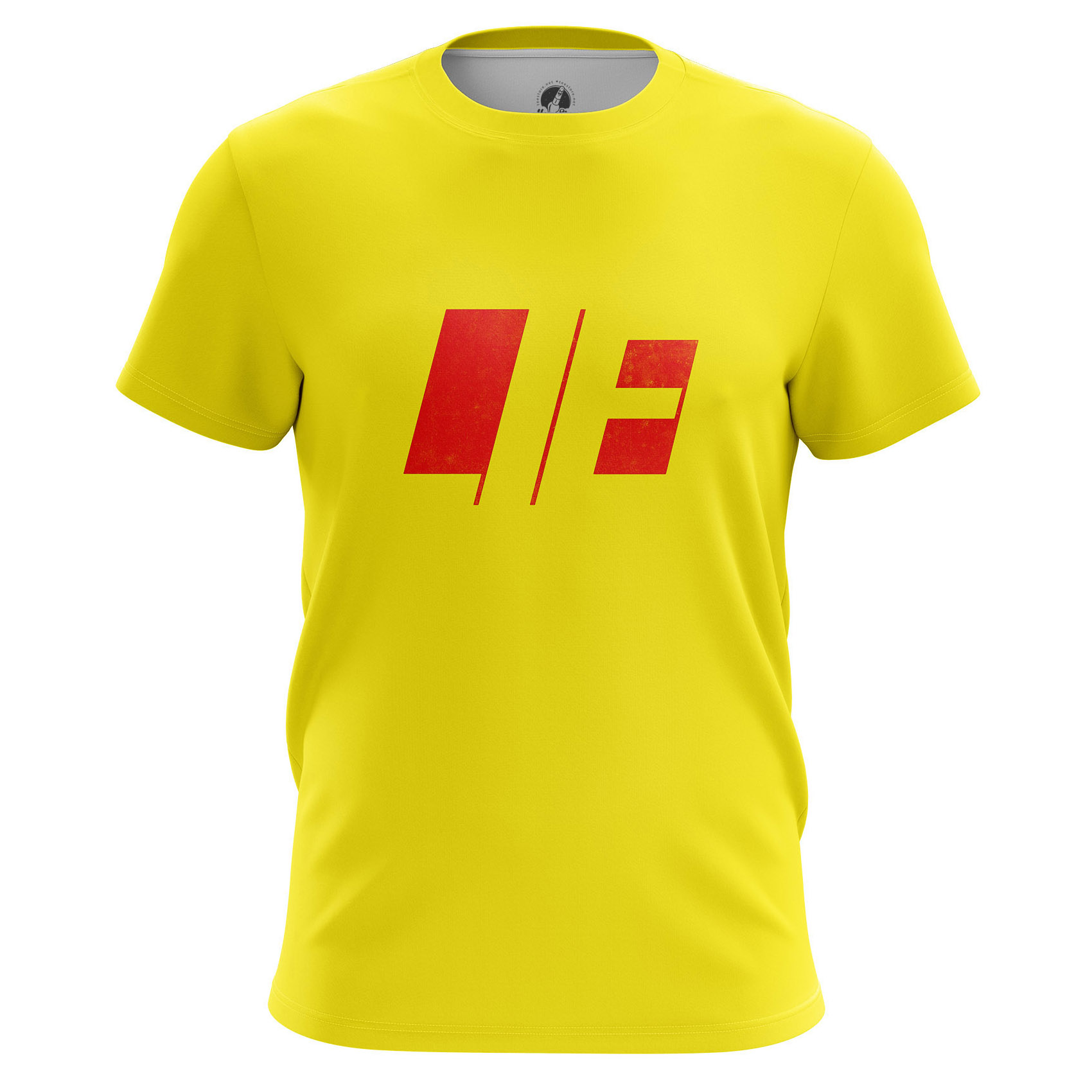 Collectibles - Men'S T-Shirt Lie Word Clothes Yellow