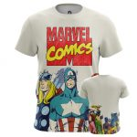 Merch - Men'S T-Shirt Marvel Comics Avengers Title
