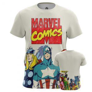 Collectibles Men'S T-Shirt Marvel Comics Avengers Title