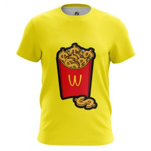 Collectibles Men'S T-Shirt Mcmoney Mcdonald French Fries Fun Pop Art