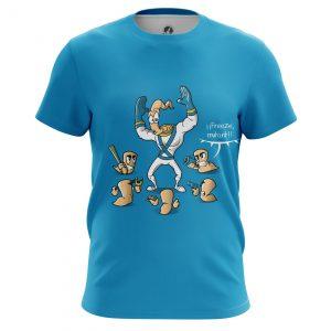 Merchandise Men'S T-Shirt Mutant Jim Sega Game Earthworm Old