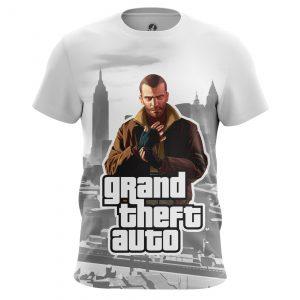Merchandise Men'S T-Shirt Niko Games Gta 4 Russia Mafia