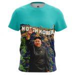 Collectibles - Mens T-Shirt North Korea Kim Jong Un
