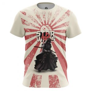 Merch Men'S T-Shirt Samurai Wars Star Wars Japan
