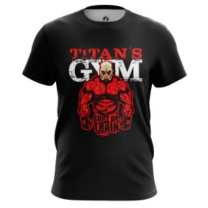 Collectibles Men'S T-Shirt Shut Up And Train Attack On Titan