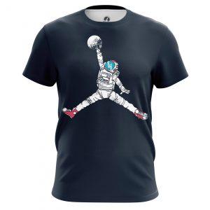 Merch Men'S T-Shirt Space Jordan Astronaut