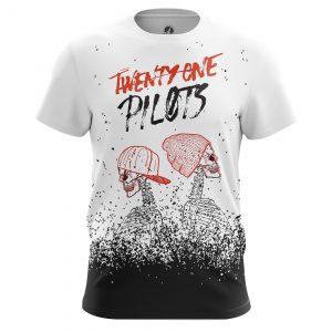 Merchandise Men'S T-Shirt Twenty One Pilots Shirts Clothes White