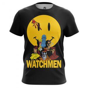 Collectibles Men'S T-Shirt Watchmen Comics Noir