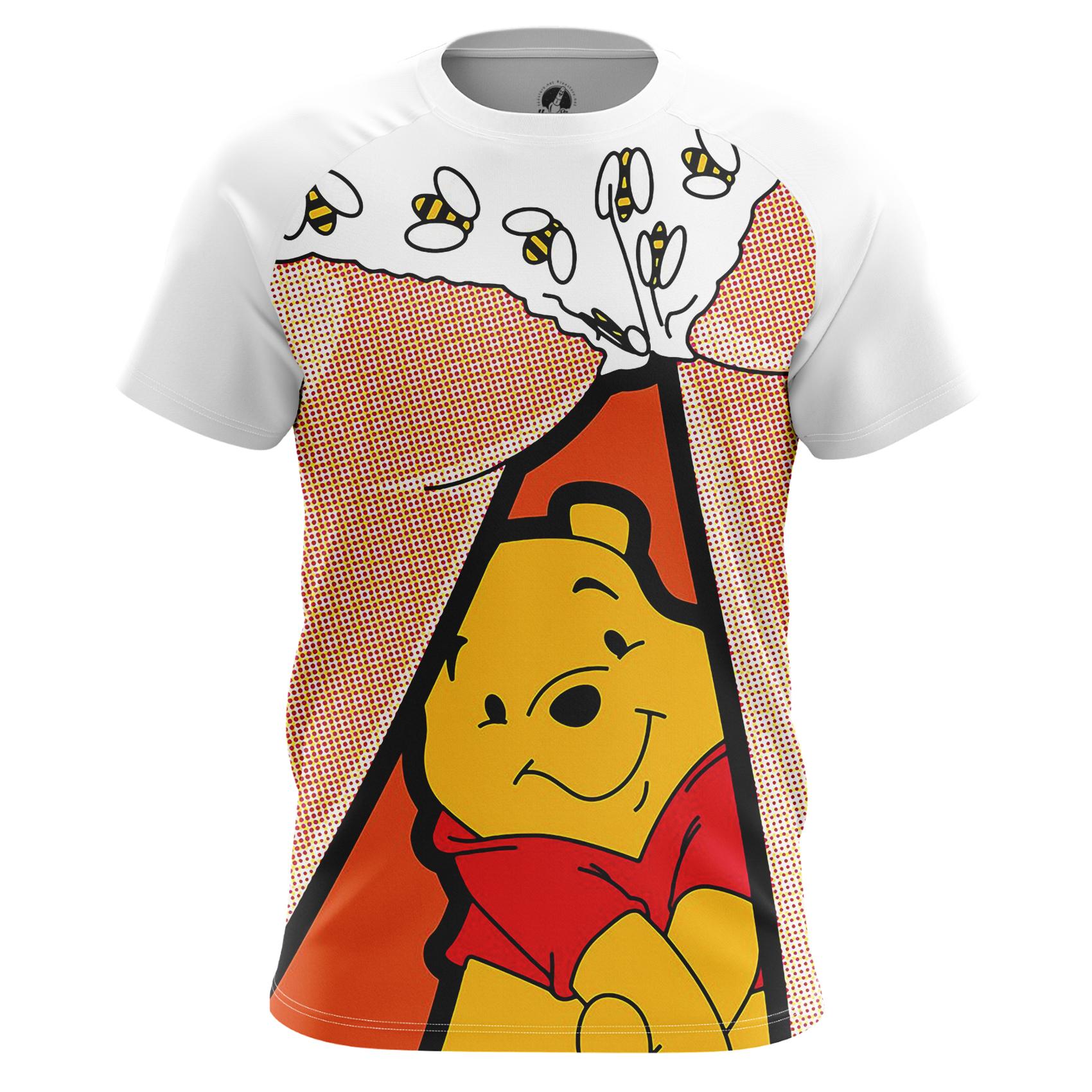 Merchandise Men'S Tank Dat Bees Winnie Pooh Disney Pop Art Vest