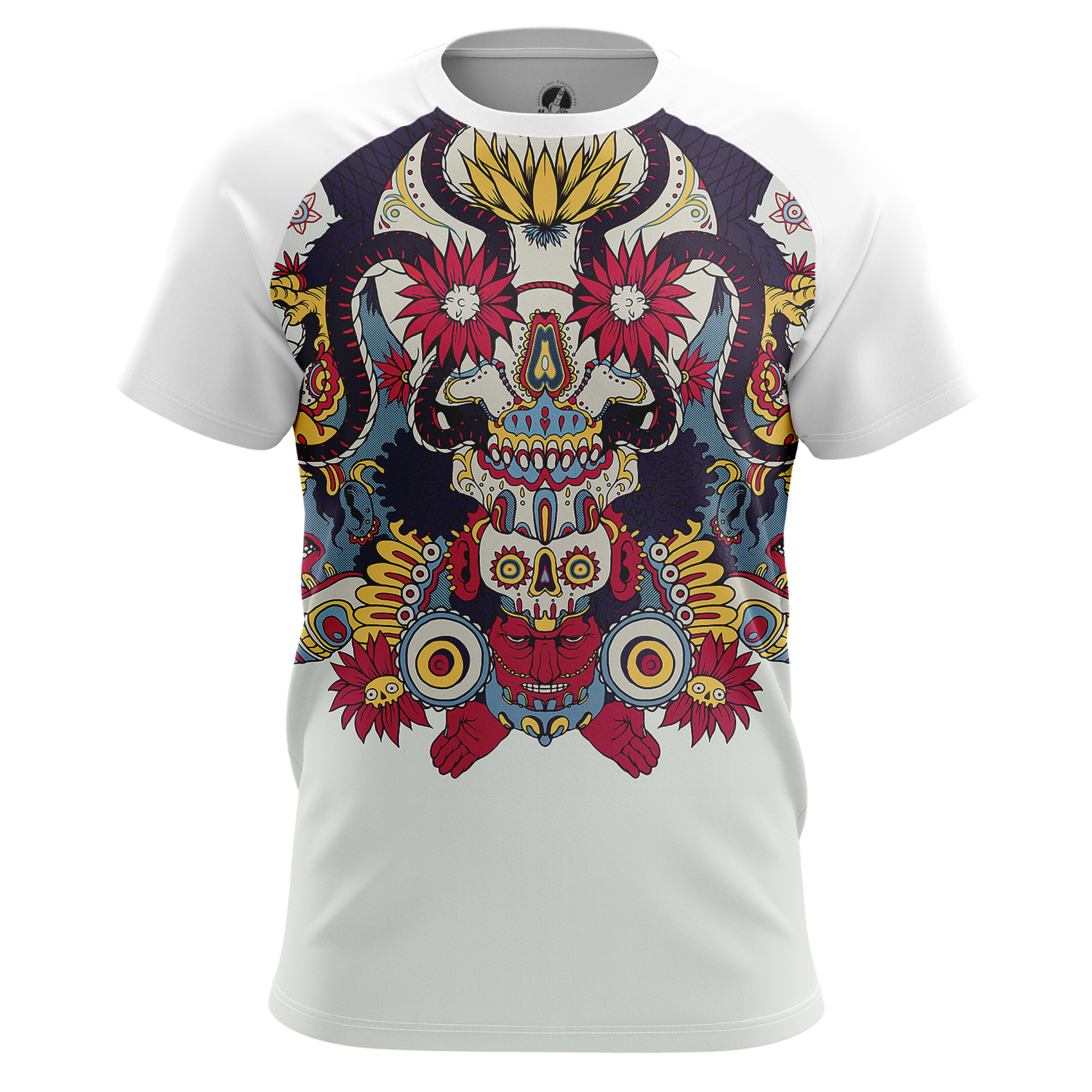 Merch Men'S Tank Maya Tattoos Print Clothes Pattern Vest