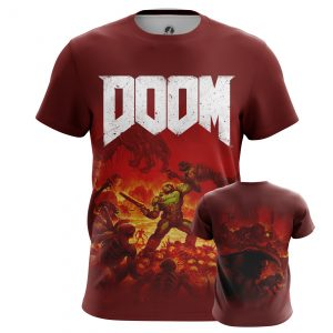 Merchandise Men'S T-Shirt Doom Game Boys Shirt