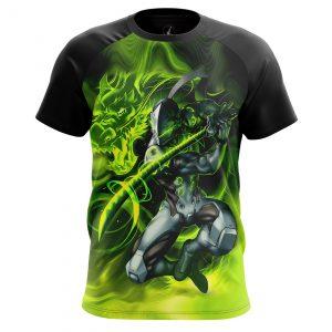 Merch - Men'S T-Shirt Genji Overwatch Gaming