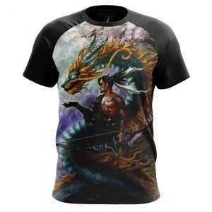 Merch - Men'S T-Shirt Hanzo Overwatch