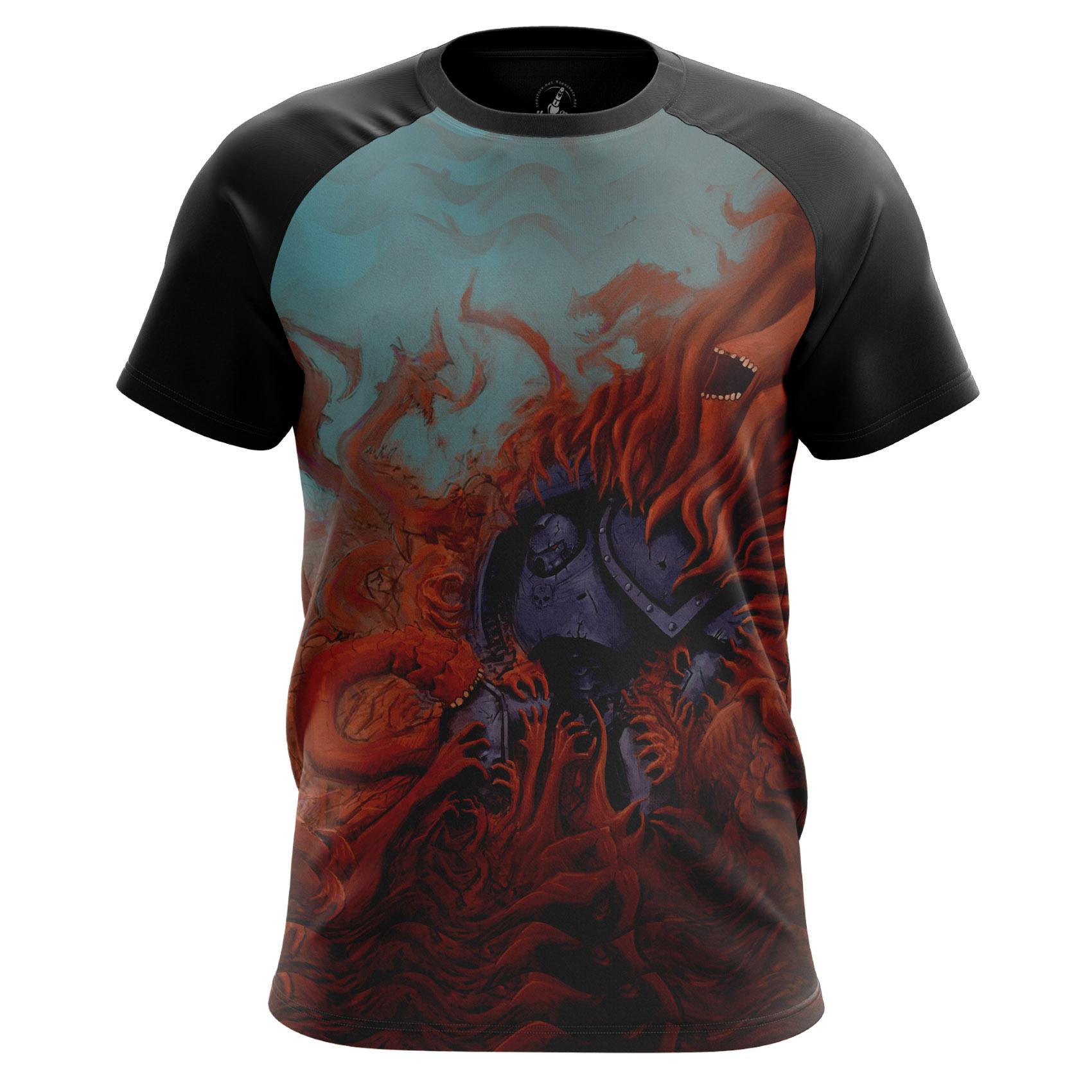 Merch Men'S T-Shirt Warp Warhammer