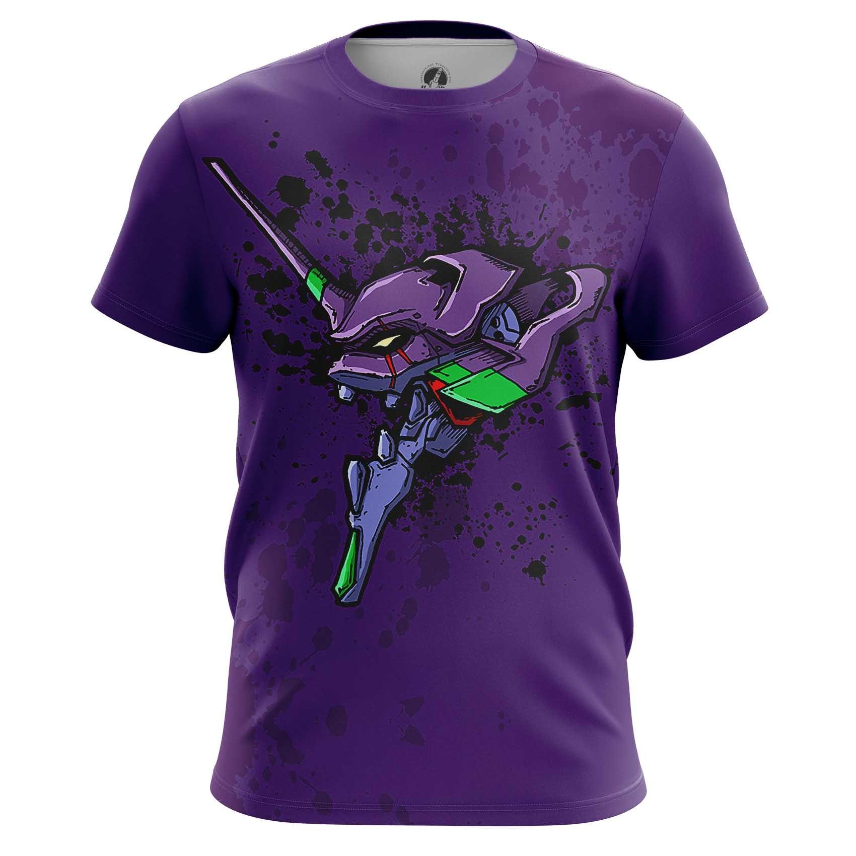 Merchandise Long Sleeve Neon Genesis Evangelion Eva Animated Series