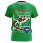 Merchandise T-Shirt Nasa Space Santa Claus 2 Christmas