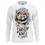 Collectibles Men'S Long Sleeve Donkey Kong Country