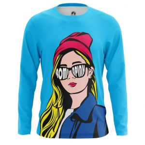Collectibles - Long Sleeve Pop Gal Girl Hipster Pop Art Illustration Inspired