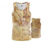 Collectibles - Tank Inventions Leonardo Da Vinci Fine Art Artwork Vest