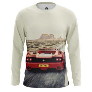 Collectibles Long Sleeve Ferrari Car Logo Emblem Valley Of Monuments