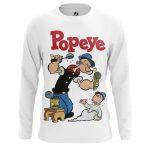 Merchandise Long Sleeve Popeye Sailor Art Picture