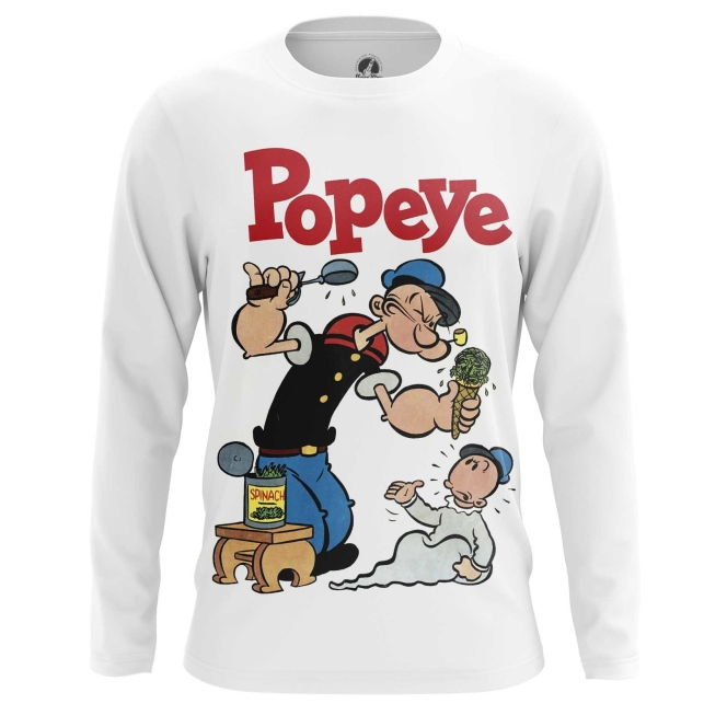 Collectibles Long Sleeve Popeye Sailor Art Picture