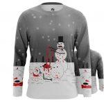 Merch - Long Sleeve Snowmans Christmas