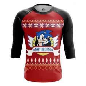 Merchandise Raglan Sonic Sonic Hedgehog X-Mas Christmas Special