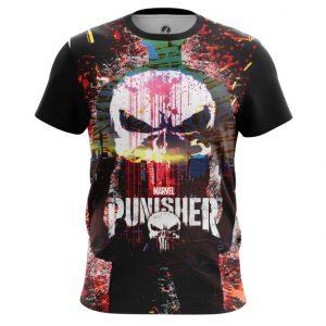 Merch Punisher T-Shirt Skull Illustration Inspired