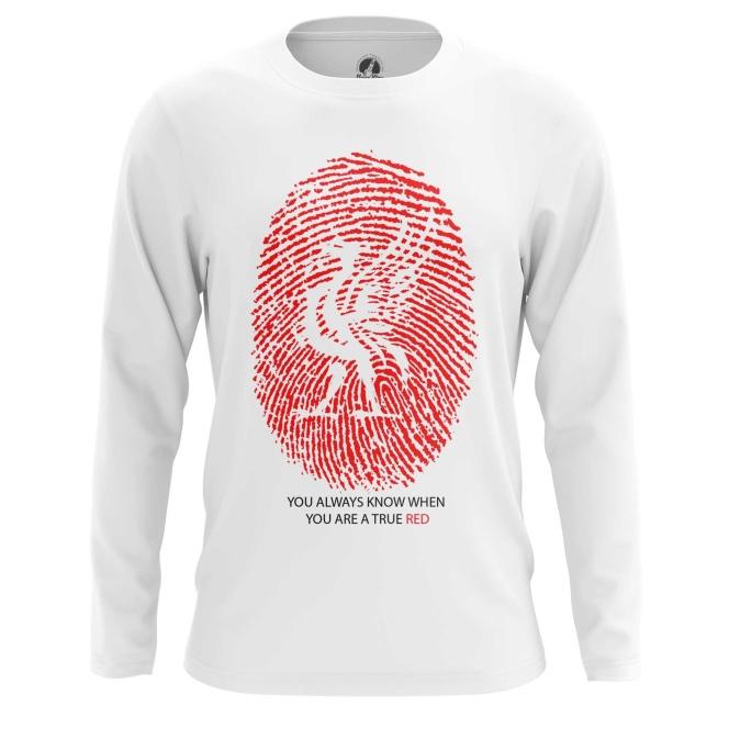 Merchandise Long Sleeve Liverpool Fan Football Red