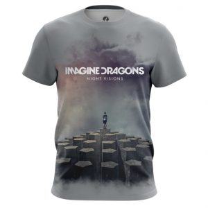 Merch Men'S T-Shirt Imagine Dragons Night Visions