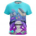 Merch T-Shirt Vaporwave 90S Inspired Art Lo Fi Web