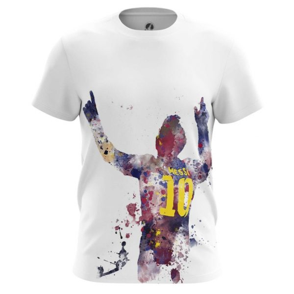 100% authentic b7df6 67338 Men's t-shirt Lionel Messi Fan Art - IdolStore