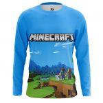 Merchandise Long Sleeve Minecraft Pattern Fan Art