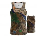 Merch - Tank Heroes Of Might And Magic 3 Map World Inspired Vest
