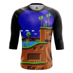 Merchandise Raglan Sonic Hedgehog 16-Bit World