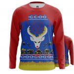 Merchandise - Long Sleeve Christmas Hell Reindeer X-Mas Christmas