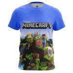 Collectibles Men'S T-Shirt Minecraft Pattern Fan Art Kids