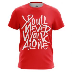Collectibles Men'S T-Shirt Liverpool You&Rsquo;Ll Never Walk Alone