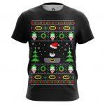 Merch - T-Shirt X-Mas Christmas Batman Christmas