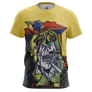 Collectibles - T-Shirt Weeping Woman Pablo Picasso Fine Art Artwork