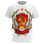 Collectibles Men'S T-Shirt Ussr Coat Logo Emblem Soviet Union Lenin